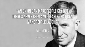 An onion can make people cry but there's never been a vegetable that ...