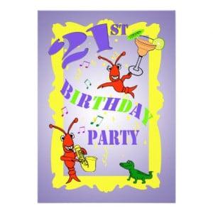21st Birthday party sign board invitation | Zazzle.co.uk