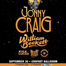 JONNY CRAIG with WILLIAM BECKETT, KYLE LUCAS, HEARTS & HANDS, and ...