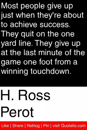... of the game one foot from a winning touchdown. #quotations #quotes