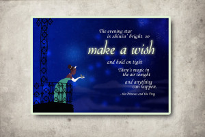 Disney Princess Tiana quote. :)
