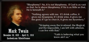 Mark Twain Quotes On Religion