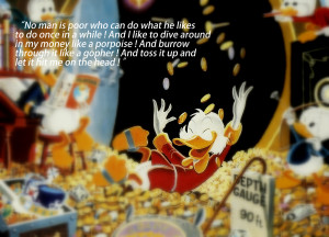 Scrooge McDuck Quotes