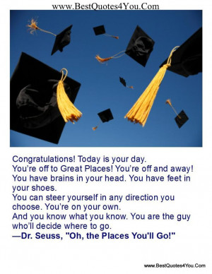 ... give the graduation speech at my college 20 years after my graduation