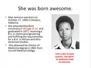 black history month mae jemison powerpoint presentation One of Anna's ...