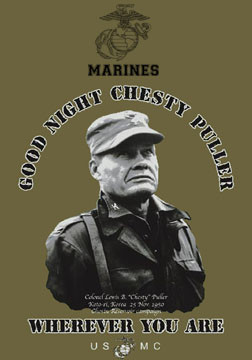 Re: leadership quotes chesty puller