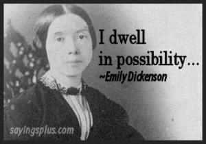Quotes Emily Dickinson Photos