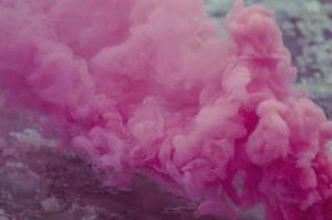 pink smoke clouds tumblr