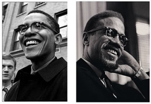 Does anyone else think Obama resembles Malcolm X..?