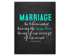 Bible verse art - marriage quote - bible verse printable - wedding ...