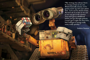 andrew stanton, director of WALL-E