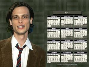 Dr. Spencer Reid Spencer Reid - 2011 calendar