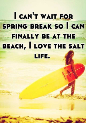 can't wait for spring break so I can finally be at the beach, I love ...