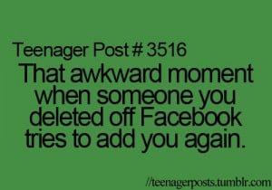 awkward, facebook, friend, quotes, teen, text, true