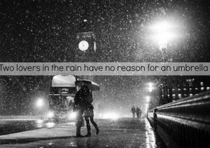 Back to Post :Love Quotes About Kissing In The Rain