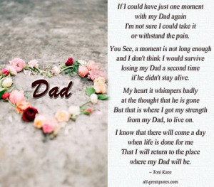 In Loving Memory Dad Verses | In Loving Memory Dad - Memorial Poems ...