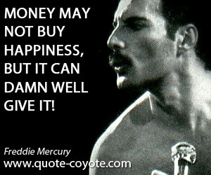 Money Wont Create Success