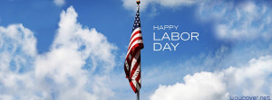 Happy Labor Day Usa Flag Facebook Cover