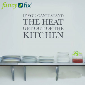 Large family love kitchen rules, WALL STICKERS, QUOTES DECALS MURALS ...