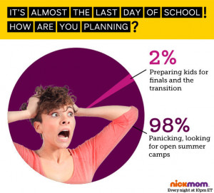 It's Almost The Last Day Of School! How Are You Planning?