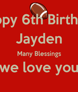 Friends Lets Wish My Son Jayden A Happy 6th Birthday Many Blessings ...