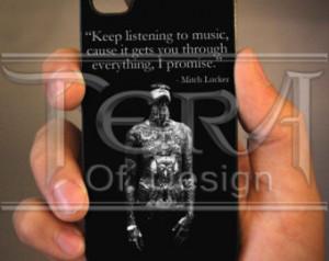 Mitch Lucker Quote Design