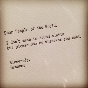 Grammar quote
