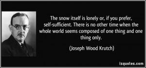 No More Snow Quotes