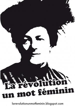 La révolution un mot feminin