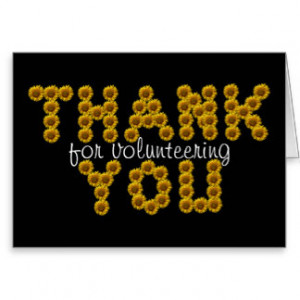 Volunteer Thank You Cards & More