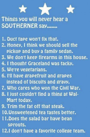 quotes about southerners - Google Search
