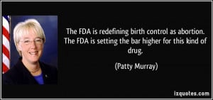 The FDA is redefining birth control as abortion. The FDA is setting ...