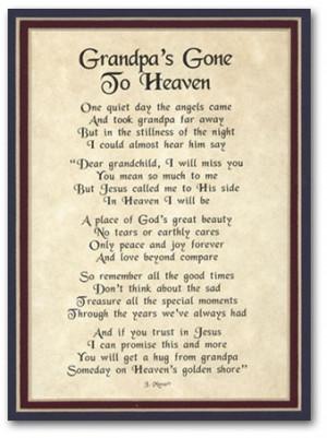 Grandpas' Gone To Heaven..