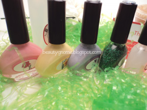 Spring 2012 Nail Polish Collection from The Nail Junkie!