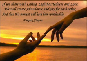 via Deepak Chopra Quotes ...
