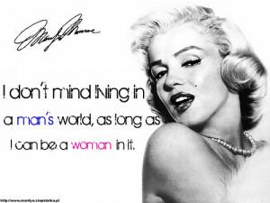 Marilyn Monroe Quote (19)