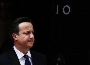 ... Hamad bin Jassim al-Thani at Downing Street in London May 16, 2012