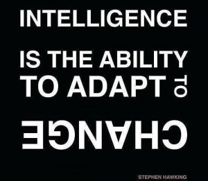 Intelligence is the ability…