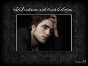 Edward Cullen Quotes HD Wallpaper 8