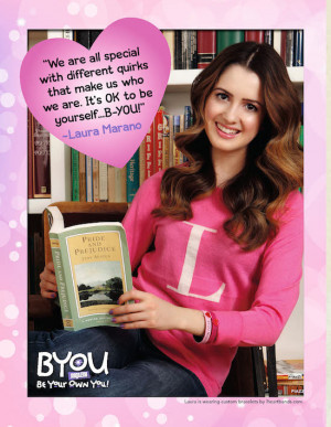 Laura Marano and BYOU Magazine Wish You a Happy Valentine's Day