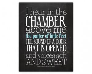 Children quote - parenting quotes - family room decor - poem print ...