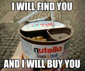 Nutella Snack n Drink
