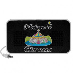 believe in circus iPod speaker