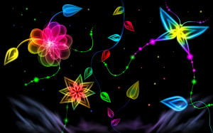 Let Your Desktop Glow with Neon Light Wallpapers