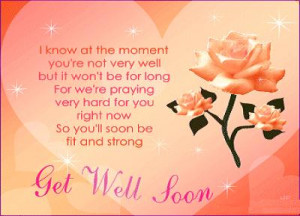 Hope You Get Well Soon!