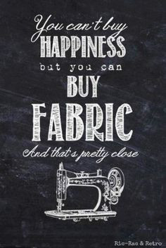 When all else fails, there's always fabric! More