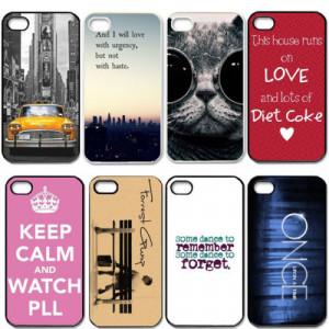 Funny Cat Dance Quotes Cell Phones Cover Case for Apple iPhone 5 and ...