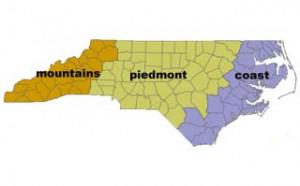North Carolina 13 Colonies Geography