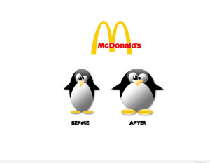 Funny McDonald's quote hd wallpaper