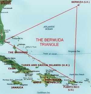The Bermuda Triangle Also...